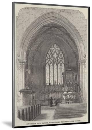 New Church of St Saviour, Warwick-Road, Paddington, the Chancel--Mounted Giclee Print