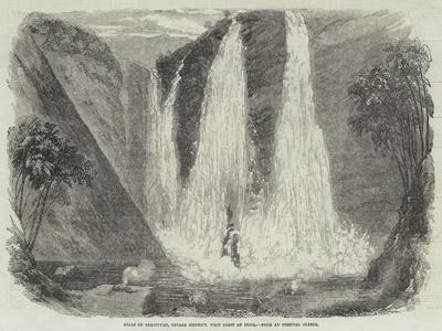 Falls of Garsuppah, Canara District, West Coast of India--Framed Giclee Print