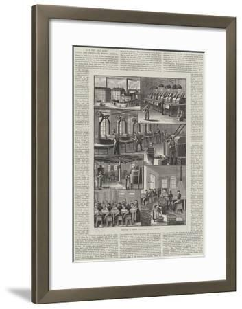 Advertisement, J S Fry and Sons' Cocoa and Chocolate Works, Bristol--Framed Giclee Print