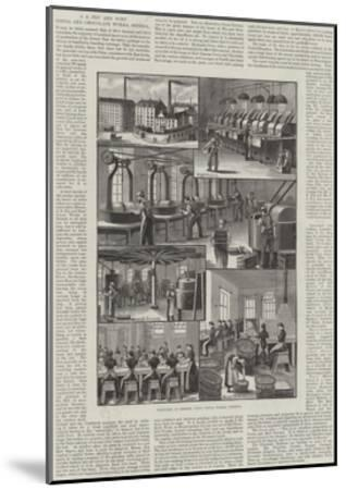 Advertisement, J S Fry and Sons' Cocoa and Chocolate Works, Bristol--Mounted Giclee Print