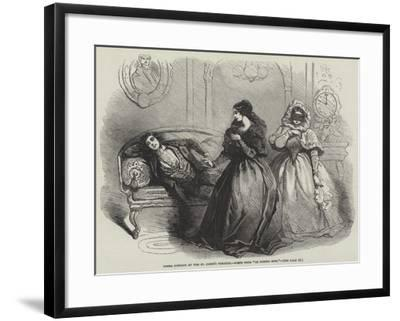 Opera Comique at the St James's Theatre, Scene from Le Domino Noir--Framed Giclee Print