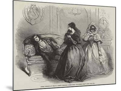 Opera Comique at the St James's Theatre, Scene from Le Domino Noir--Mounted Giclee Print