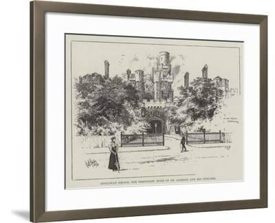 Holloway Prison, the Temporary Home of Dr Jameson and His Officers--Framed Giclee Print