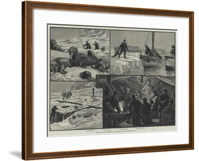 The Eira Arctic Expedition, Sketches in Franz Joseph Land--Framed Giclee Print