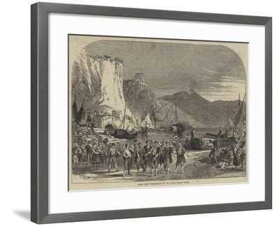 Scene from Masaniello, at the Royal Italian Opera--Framed Giclee Print