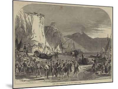 Scene from Masaniello, at the Royal Italian Opera--Mounted Giclee Print