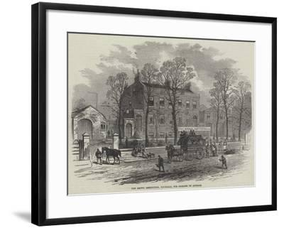 The Brown Institution, Vauxhall, for Diseases of Animals--Framed Giclee Print