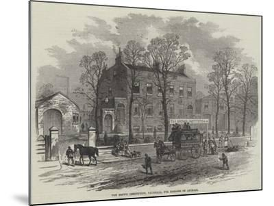 The Brown Institution, Vauxhall, for Diseases of Animals--Mounted Giclee Print