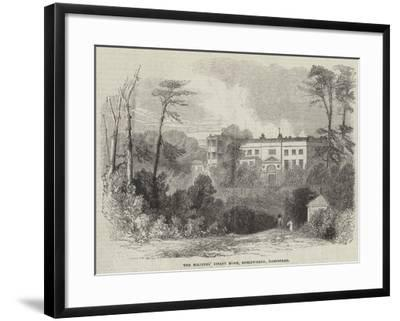 The Soldiers' Infant Home, Roslyn-Park, Hampstead--Framed Giclee Print