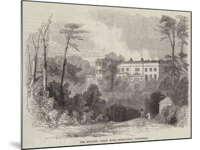 The Soldiers' Infant Home, Roslyn-Park, Hampstead--Mounted Giclee Print