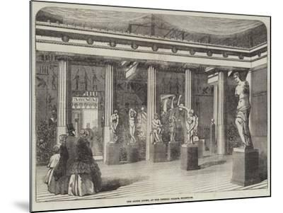 The Greek Court, at the Crystal Palace, Sydenham--Mounted Giclee Print