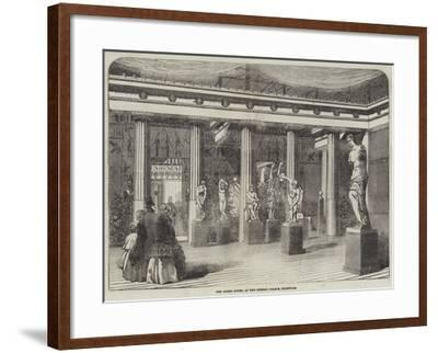 The Greek Court, at the Crystal Palace, Sydenham--Framed Giclee Print