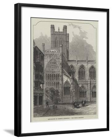 Restoration of Chester Cathedral, the South Transept--Framed Giclee Print