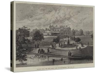 Manley Hall, the New Public Park for Manchester--Stretched Canvas Print