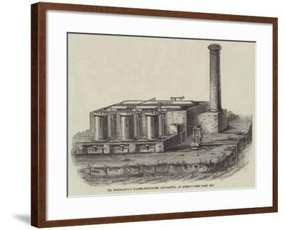 Dr Normandy's Water-Distilling Apparatus, at Aden--Framed Giclee Print
