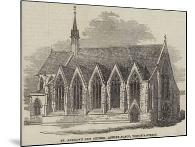 St Andrew's New Church, Ashley-Place, Victoria-Street--Mounted Giclee Print