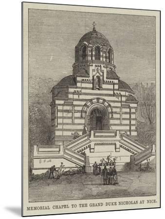 Memorial Chapel to the Grand Duke Nicholas at Nice--Mounted Giclee Print