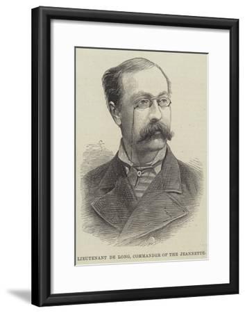 Lieutenant De Long, Commander of the Jeannette--Framed Giclee Print