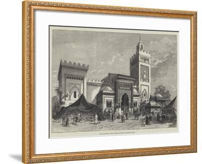 Paris Exhibition, the Algerine Pavilion, Trocadero Park--Framed Giclee Print