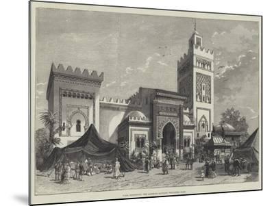 Paris Exhibition, the Algerine Pavilion, Trocadero Park--Mounted Giclee Print