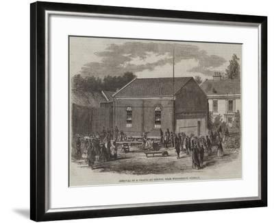 Removal of a Chapel at Melton, Near Woodbridge, Suffolk--Framed Giclee Print