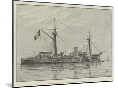 Types of the French Navy, the Armoured Ship Duguesclin--Mounted Giclee Print