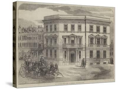 New Office of the Duchy of Cornwall, Buckingham-Gate--Stretched Canvas Print