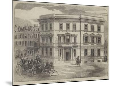 New Office of the Duchy of Cornwall, Buckingham-Gate--Mounted Giclee Print