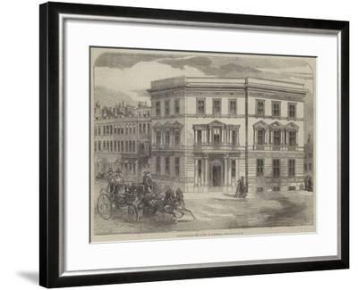 New Office of the Duchy of Cornwall, Buckingham-Gate--Framed Giclee Print