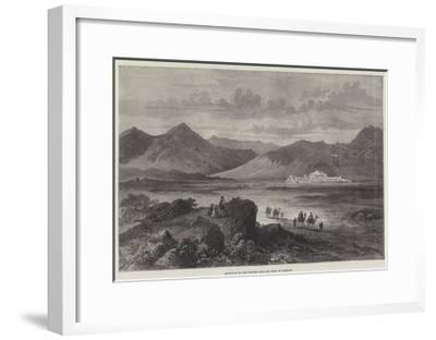 Entrance to the Khyber Pass and Fort of Jamrood--Framed Giclee Print