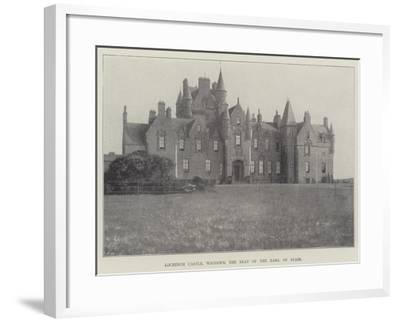 Lochinch Castle, Wigtown, the Seat of the Earl of Stair--Framed Giclee Print