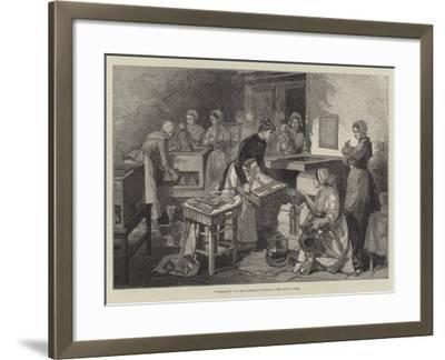 Incubators at the Maternity Hospital, Port Royal, Paris--Framed Giclee Print