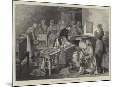 Incubators at the Maternity Hospital, Port Royal, Paris--Mounted Giclee Print