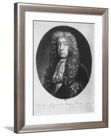 John Maitland, Duke of Lauderdale, Marquis of March--Framed Giclee Print