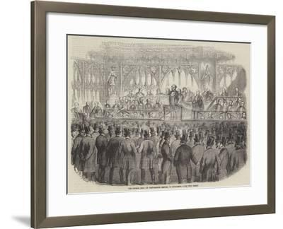 The Common Hall on Corporation Reform, in Guildhall--Framed Giclee Print