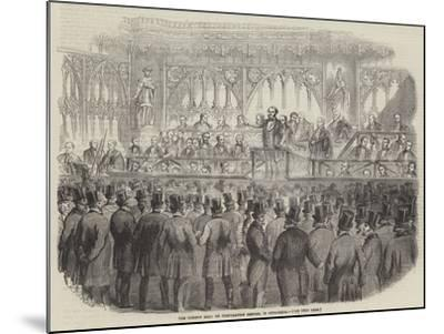 The Common Hall on Corporation Reform, in Guildhall--Mounted Giclee Print
