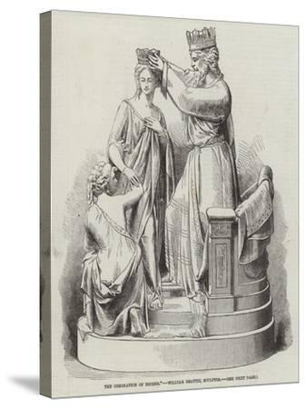 The Coronation of Esther, William Beattie, Sculptor--Stretched Canvas Print