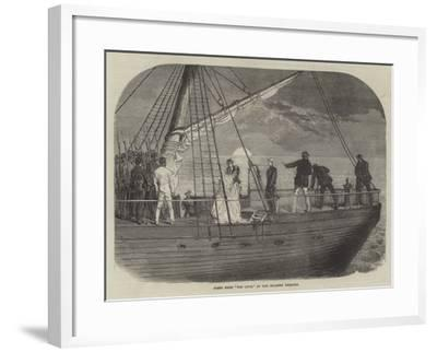 Scene from For Love, at the Holborn Theatre--Framed Giclee Print