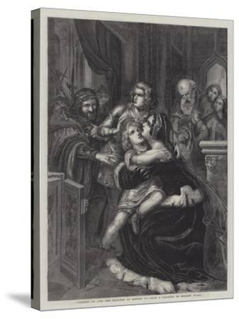 Richard III and the Children of Edward IV--Stretched Canvas Print