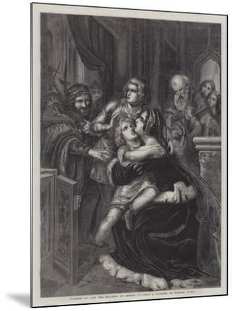 Richard III and the Children of Edward IV--Mounted Giclee Print