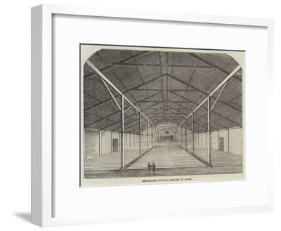 Temperance Pavilion, Erected at Dunse--Framed Giclee Print