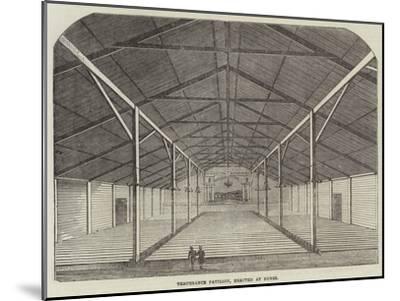Temperance Pavilion, Erected at Dunse--Mounted Giclee Print