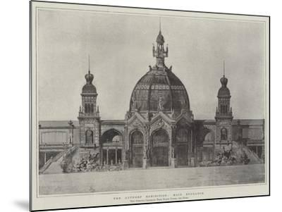The Antwerp Exhibition, Main Entrance--Mounted Giclee Print