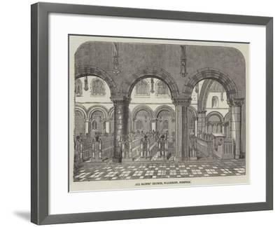 All Saints' Church, Walsoken, Norfolk--Framed Giclee Print