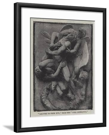 Deliver Us from Evil, from the Lyra Germanica--Framed Giclee Print