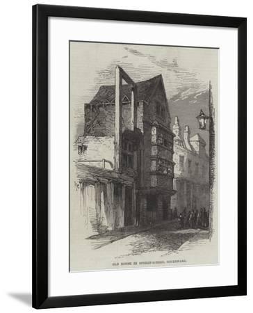 Old House in Stoney-Street, Southwark--Framed Giclee Print
