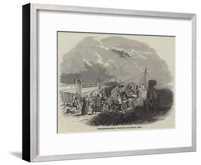 Westminster-Bridge Sketched on Monday Last--Framed Giclee Print