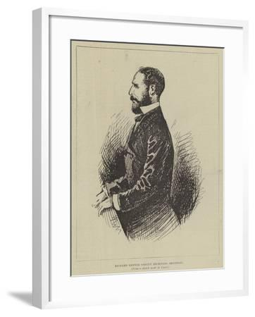Richard Banner Oakley Receiving Sentence--Framed Giclee Print