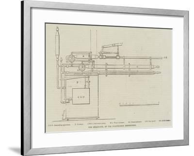 The Steam-Gun, at the Polytechnic Institution--Framed Giclee Print