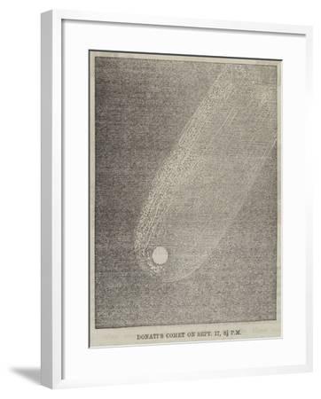Donati's Comet on 17 September, 8 1/2 PM--Framed Giclee Print